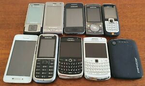 10x Working Phone Bundle/Joblot, Samsung, Nokia, Blackberry, Free UK delivery