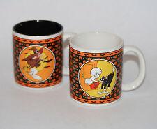 1986 Casper the Friendly Ghost Mugs / Halloween / Witch / United Silver Cutlery