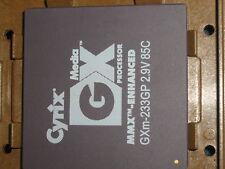 CYRIX MEDIA GX 233MHZ CPU MMX ENHANCED GXm-233GP 2.9V PROCESSOR MICRO