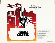 Mean Street Robert De Niro vintage movie poster #13