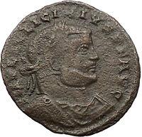 Licinius I Constantine I enemy 313AD Roman Coin Nude Jupiter w eagle