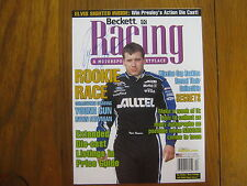 Ryan Newman (2002 Raybestos Rookie of the Year)Signed 8 X 10 1/2 Beckett Cover