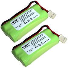 2x HQRP Phone Batteries for VTech CS6429 CS6429-2 CS6429-3 CS6429-4 CS6429-5