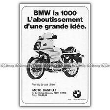 PUB BMW 1000 R 100 RS R100 R100RS - Original Advert / Publicité Moto 1977