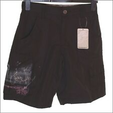 "BNWT AUTHENTIC MEN'S OAKLEY TWELVE42 CARGO COMBAT SHORTS W28"" BLACK"