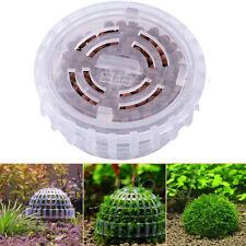 Aquarium Mineralien Mooskugel Filter Künstliche Pflanze Garnelen 5cm