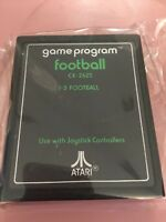 Atari 2600 - Football (Text Label) - game cartridge only - tested, working