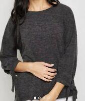 Mango Ruched Sleeve T-Shirt Size S UK RRP £25.00 Box E113