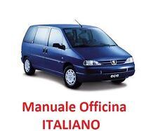 PEUGEOT 806 (1994/2002) Manuale Officina Riparazione ITALIANO