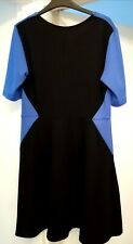 Black/blue accent Dress George size 12 in excellent used condition..near perfect