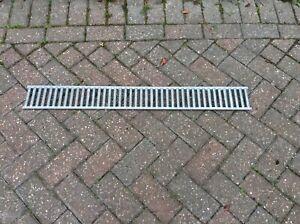 ACO drain glavanised metal grid