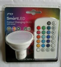TCP Smart Led Colour Changing Gu10 Bulb with Remote control 3.5w - NEW