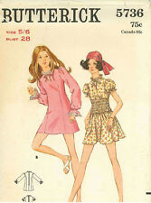 Vintage Teens One Piece Dress Sewing Pattern B5736 Size 5/6