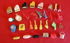 Vintage Miniatures Musical Instruments Telephones Treasure Chests Lenticular TV