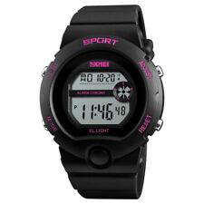 SKMEI Fashion Sport Watch for Women Digital Watches LED Electronic Wristwatch