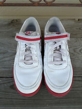 Nike Vandal Low # 316432-119 White/Red Athletic Shoes Men's 11