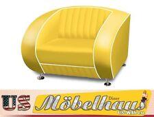 SF-01-Y Bel Air Fifties Style Designer Sofa Wohnzimmer Sessel Retro 50er Jahre