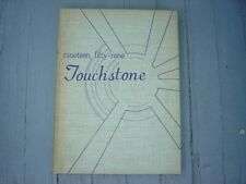 """Vintage 1959 Hood College Yearbook Frederick Maryland """"Touchstone"""""""