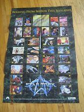 Promo Poster - Star Trek Master Series - 1994 - Skybox Painted art