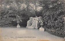CPA 92 CHATENAY VILLA JACQUELINE JARDIN (cliché pas courant