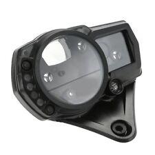 SpeedoMeter Gauge Tachometer Case Clock Cover for Suzuki GSXR1000 07-08 Black