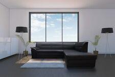 Ecksofa Elano Eckcouch Sofa Couch mit Bettfunktion Kunstleder Schlaffunktion