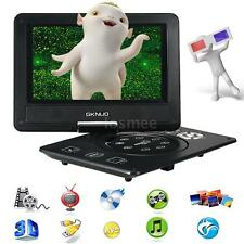 "9"" Portable Rotatable DVD Player Multimedia with Game/FM/TV/USB/MC Function Q7F7"