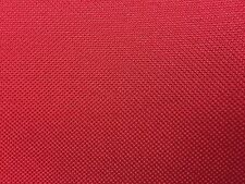 Red Marine PVC Vinyl Canvas Waterproof Upholstery Outdoor Fabric - BTY