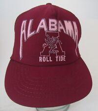 Vtg Alabama Roll Crimson Tide  Trucker Hat Cap Mesh  A13
