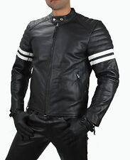 1089 Gr.M Real lederjacke Motorradjacke,Motorrad Jacke Rockabilly Leather Jacket