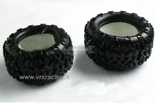 COPPIA GOMME PIU INSERTO PER MONSTER TRUCK TRUGGY 1/10 OFF ROAD 2PCS 10140 VRX