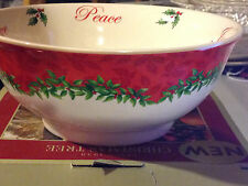 "Spode Christmas Tree Annual Revere Bowl 6""  NIB"