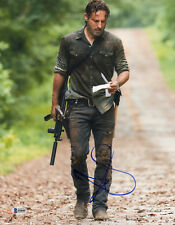 ANDREW LINCOLN SIGNED AUTO'D 11X14 PHOTO BAS COA THE WALKING DEAD RICK GRIMES D