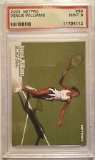 2003 VENUS WILLIAMS  NETPRO SP CARD #99 PSA GRADED 9 TENNIS CARD