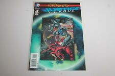 DC JUSTICE LEAGUE THE NEW 52 FUTURES END #1 NOV  2014 LENTICULAR COVER