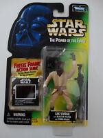 1997 Star Wars POTF Lak Sivrak Freeze Frame Action Slide Action Figure