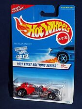Hot Wheels 1997 First Editions 4 / 12 #520  Saltflat Racer w/ Malaysia Base
