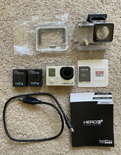 New ListingGoPro Hero 3+ Silver Wifi - Used + Accessories *No Battery Charger*