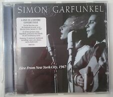 Simon & Garfunkel    Live From New York City, 1967 CD Europa
