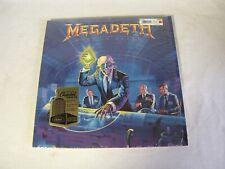Megadeth Rust In Peace LP Vinyl Record 180 Gram Capitol Remastered Ltd Ed. Ex/NM