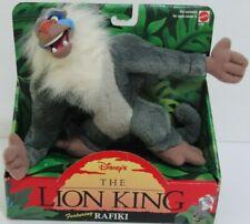 "1994 The Lion King ""RAFIKI"" Plush Stuffed Toy Mattel Brand DISNEY New in Box!!"