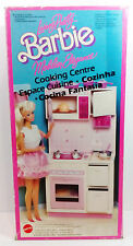 1987 MATTEL BARBIE COOKING CENTRE CENTER LIVING PRETTY BRAND NEW SEALED CONTENTS