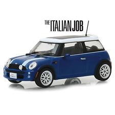 The Italian Job 2003 Mini Cooper - blue