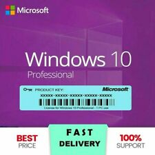WIN 10 PRO PROFESSIONAL 32/64 BIT ACTIVATION LICENSE KEY ✔️ INSTANT DELIVERY ✔️
