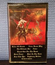 The Ultimate Sin by Ozzy Osbourne Jake E Lee signed (Cassette, Jan-1986, Epic)