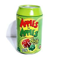 Apples to Apples Can Dice Game New and Ages 7+ Family Fun 3 to 6 Players