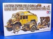 Tamiya 1/35 scale British 25 pounder & Quad Tractor