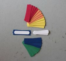 Stampin' Up! NEW 18-20 In Color Modern Labels/Window Slit Punches 40