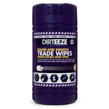 Dirteeze Rough & Smooth Trade Wipes, Pack 80