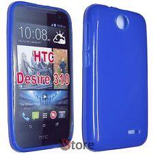 Cover Custodia Per HTC Desire 310 BLU GEL TPU silicone